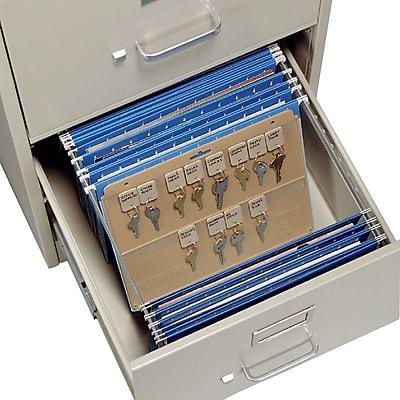 MMF Industries™ STEELMASTER® File Drawer Key Panel, Beige, 9
