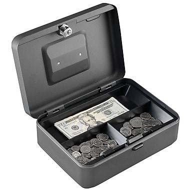 MMF Industries™ STEELMASTER® Push Button Security Box, Gray, 3 9/16
