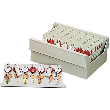 MMF Industries™ Dupli-Key® In Drawer Key Tray, Putty, 4 3/4