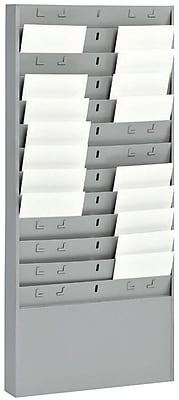 MMF Industries™ STEELMASTER® Time Card Racks with 6