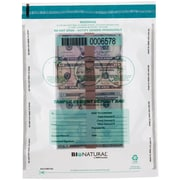 "MMF Industries™ Bio-Natural™ Tamper-Evident Bags, Clear, 16""H x 12""W"