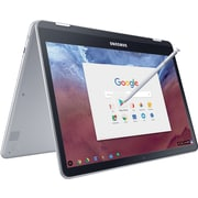 "Samsung Chromebook Plus 12.3"" LED Display Laptop Computer, Hexa-core processor, 32GB eMMC, 4GB RAM, Google Chrome OS"