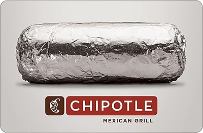 Chipotle Gift Card $100