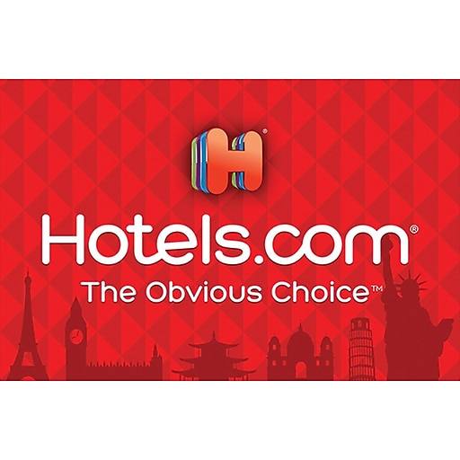 Hotels.com Gift Card $500 (Email Delivery)