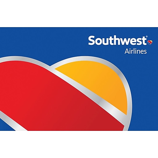 Southwest Airlines Gift Card $200 (Email Delivery)