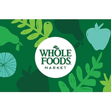 Whole Foods Gift Card $200