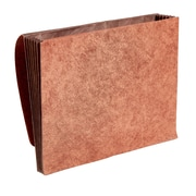 "Staples Heavy-Duty Wallet with Fully Lined Tyvek Gussets, 5 1/2"" Expansion, Letter Size, Brown (CL1073GHD2)"