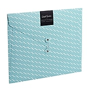 DwellStudio Vichy Horizontal Envelope File Folder, Blue (51160)