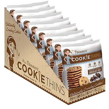 Mrs Thinsters Chocolate Chip Cookie Thins, 1.5oz,8ct