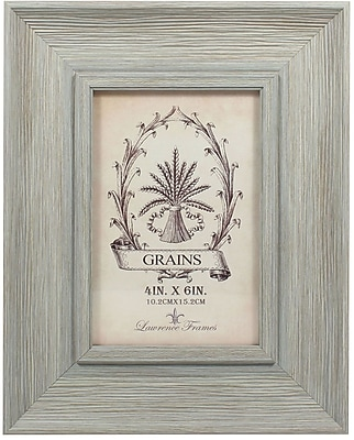 4x6 Weathered Seafoam Picture Frame