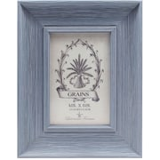 4x6 Weathered Lapis Picture Frame