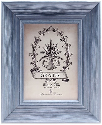 5x7 Weathered Lapis Picture Frame