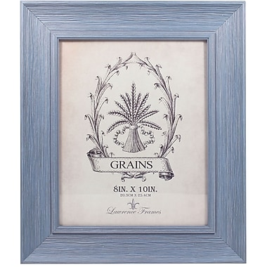 8x10 Weathered Lapis Picture Frame