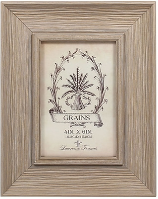 4x6 Weathered Drift Wood Picture Frame