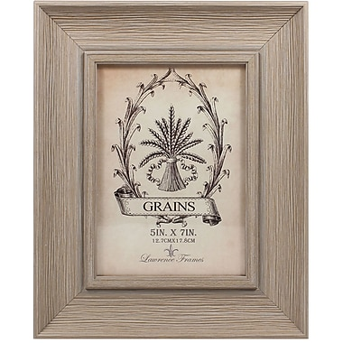 5x7 Weathered Drift Wood Picture Frame