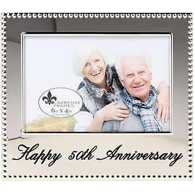 4x6 Happy 50th Anniversary Picture Frame