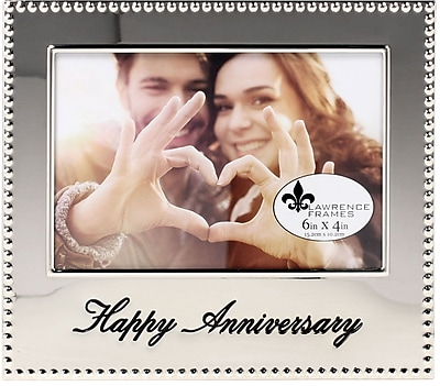 4x6 Happy Anniversary Picture Frame
