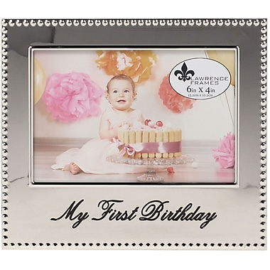 4x6 My First Birthday Picture Frame