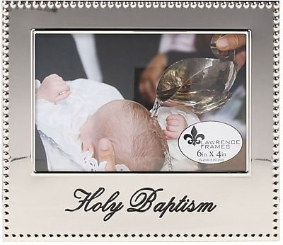 4x6 Holy Baptism Picture Frame