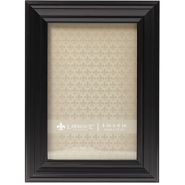 4x6 Classic Detailed Black Picture Frame