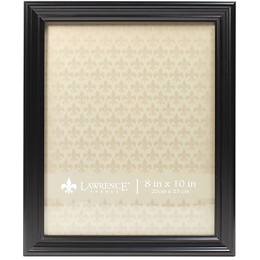 8x10 Classic Detailed Black Picture Frame
