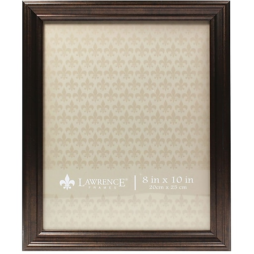 8x10 Classic Detailed Oil Rubbed Bronze Picture Frame Staples