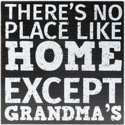 8x8 Black Wood Box Sign - Grandmas