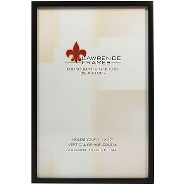 11x17 Black Wood Picture Frame - Gallery Collection