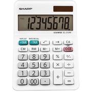 Sharp El-310wb Mini Desktop Calculator, 8-Digit Lcd