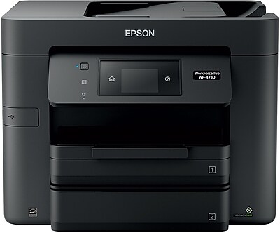 Epson WorkForce Pro WF-4730 All-in-One Color Inkjet Printer (C11CG01201)