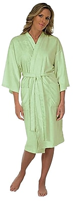 Canyon Rose Microplush Spa Robe, Sage, XL