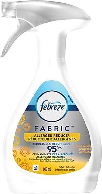Febreze FABRIC Refresher Allergen Reducer Spray, Clean Splash, 27 oz.