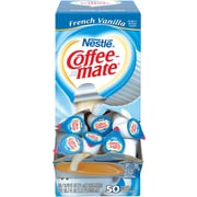 Nestlé® Coffee-mate® Coffee Creamer, French Vanilla, .375oz liquid creamer singles, 200 count