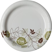 "Dixie® Pathways® Medium-Weight Paper Plate by GP PRO, 7"", 500/Ct (UX7WS)"