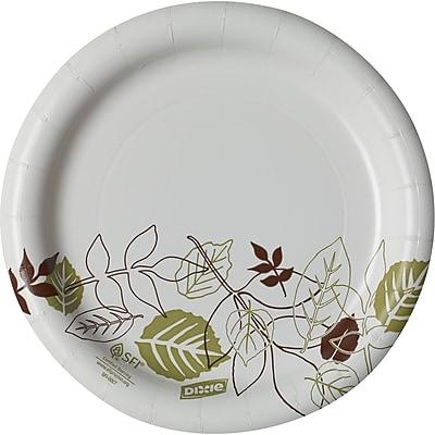 Dixie Pathways Medium Weight Paper Plates, 6.87