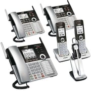 VTech 4-Line Small Business Office Phone System - Bundle with (1) CM18445, (2) CM18245, (2) CM18045 & (1) IS6200 Headset