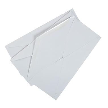 Staples Gummed Left Window #10 Envelope, 4-1/8