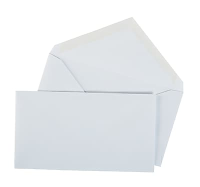 Staples Gummed #6 3/4 Standard Business Envelopes, 500/Box (187005/19252)