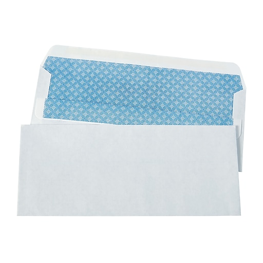 Staples self sealing security tint 10 envelopes 4 18 x 9 12 httpsstaples 3ps7is reheart Image collections