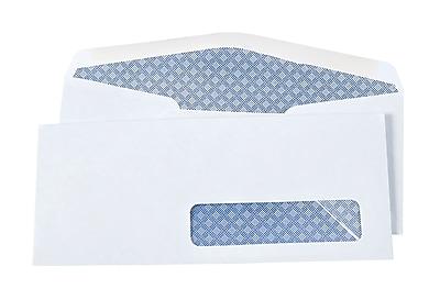 "Staples Commercial Flap Security tint #10 Envelopes, 4 1/8"" x 9 1/2"", White, 500/box (572043/17206)"