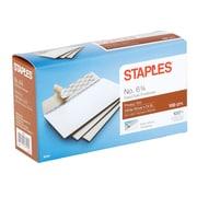 "Staples EasyClose Security-Tint  #6-3/4"" Envelopes, 100/Box"