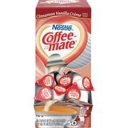 Nestle® Coffee-mate® Coffee Creamer, Cinnamon Vanilla Creme, .375 oz Liquid Creamer Singles, 50/Box