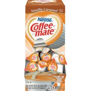 Nestle® Coffee-mate® Coffee Creamer, Vanilla Caramel, .375 oz Liquid Creamer Singles, 50/Box