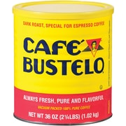 Cafe Bustelo Dark Roast Coffee, 36 Oz