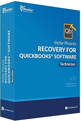 Stellar Phoenix Recovery for QuickBooks for Windows (1 User) [Download]
