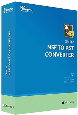 Stellar Stellar NSF to PST Converter for Windows (1 User) [Download]