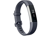 Fitbit Alta HR Activity Tracker, Large, Blue Gray