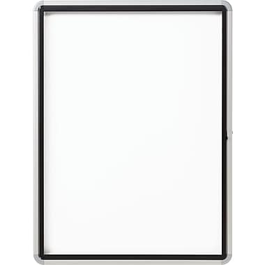 Enclosed Magnetic Whiteboard for Outdoor Use, 30