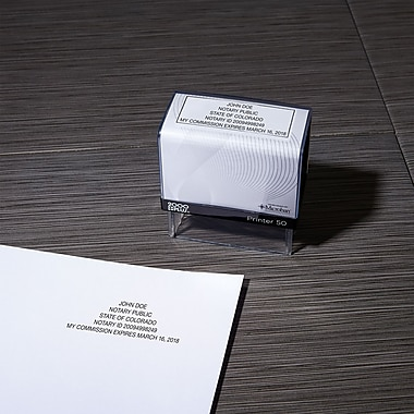 Custom Notary Stamps