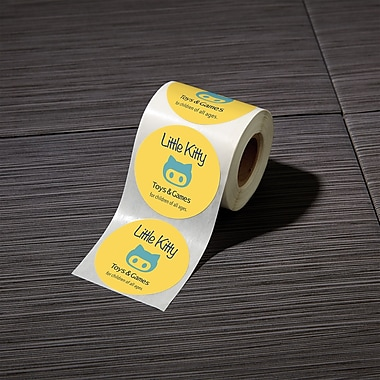 Custom advertising labels
